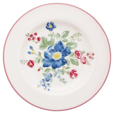 Десертная тарелка Roberta pale pink 15 см