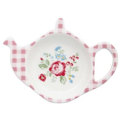 Блюдце для чайных пакетиков Henrietta white