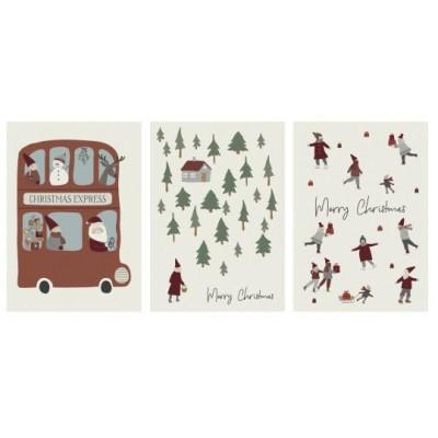 Рождественская открытка в асс.