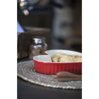 Набор тарелок в форме сердца Mynte Strawberry 3 шт