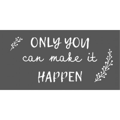 Магнит Only you can make it happen