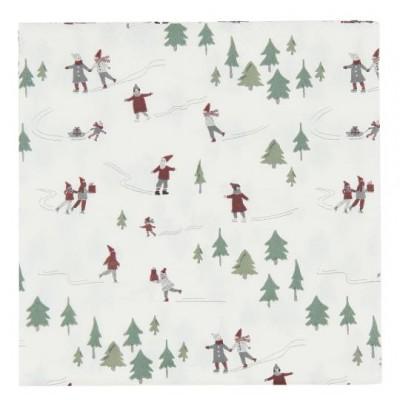 Салфетки бумажные Christmas Fairytale
