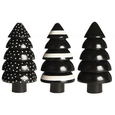 Фигурка Новогодняя ёлочка, black (в ассортименте)