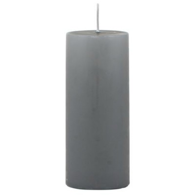Свеча dark grey D 6 см