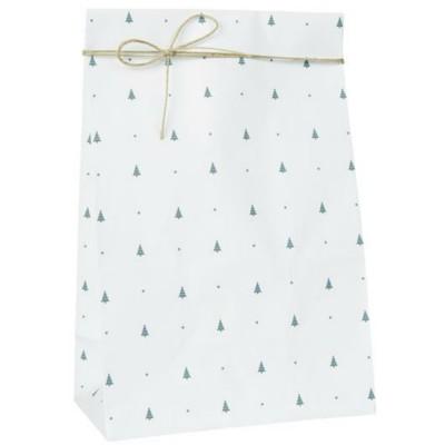 Бумажный пакет Christmas trees