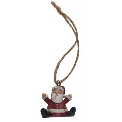 Подвесное украшение Санта