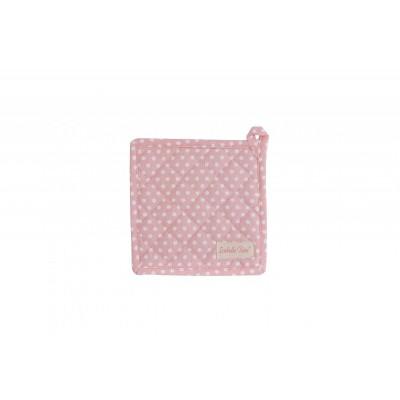 Прихватка Polka dot pink 20x20 см