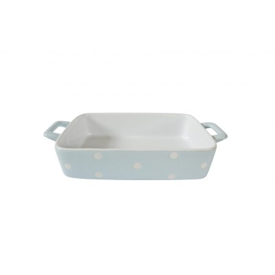 Форма для выпечки Pastel blue with dots 29,5x17x5 см