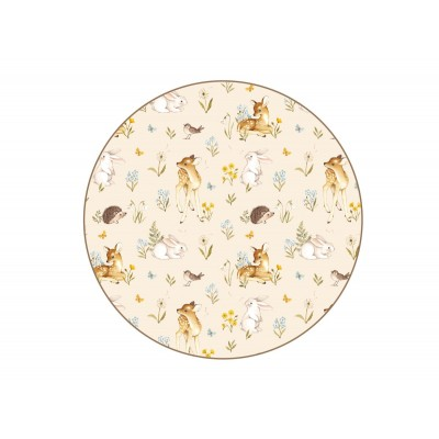 Десертная тарелка Spring forest beige 19 см