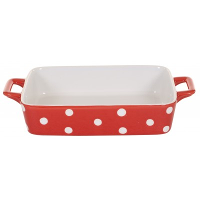 Форма для выпечки Red small with dots 29,5x17x5 см