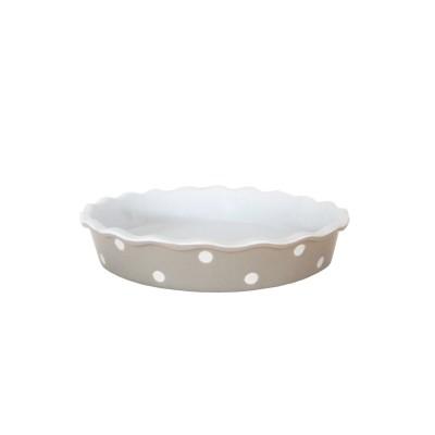 Форма для выпечки Beige Pie with dots 26,5x26,5x5 см