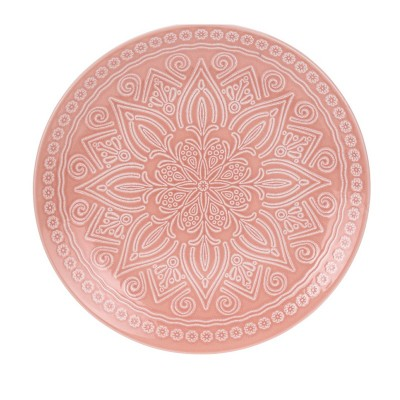 Блюдо Stoneware Embossed Orange 27 см