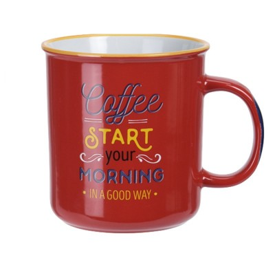 Кружка Stoneware Coffee Red 650 мл