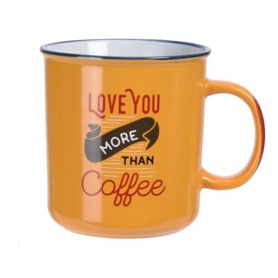 Кружка Stoneware Coffee Yellow 650 мл