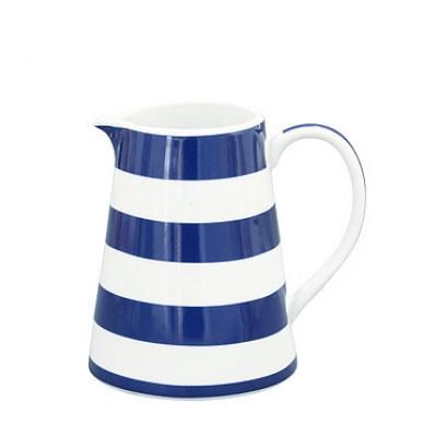 Молочник Stripes dark blue