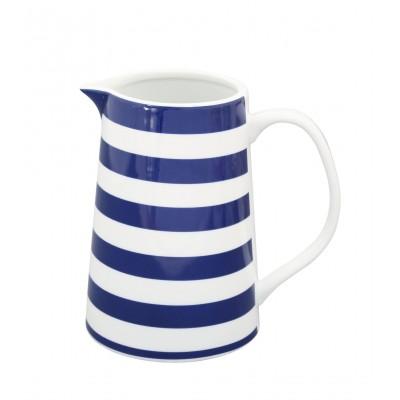 Кувшин Striped dark blue 850 мл