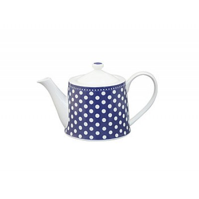 Чайник Dots dark blue