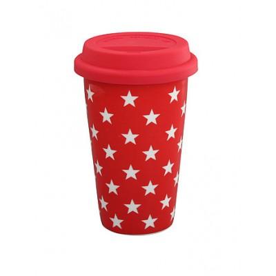 Термокружка red stars