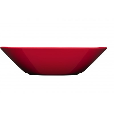 Teema Глубокая тарелка 21 см красная