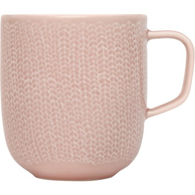 Sarjaton Кружка 0,36мл розовая