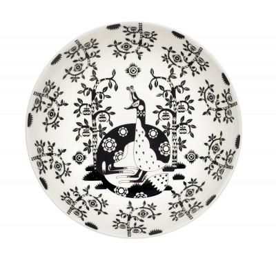 Taika Black Глубокая тарелка, 22см