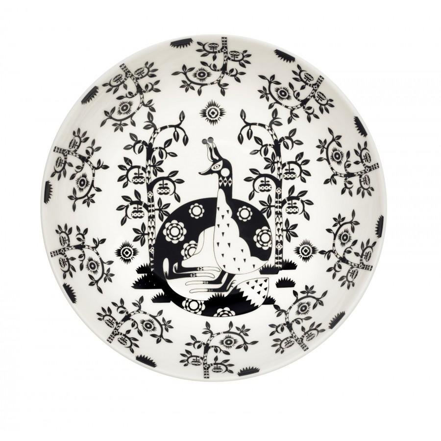 Taika Black Глубокая тарелка 22 см