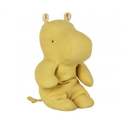 Бегемот желтый лайм маленький