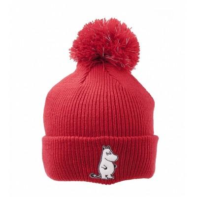 Шапка вязаная Moomin Муми-тролль Red
