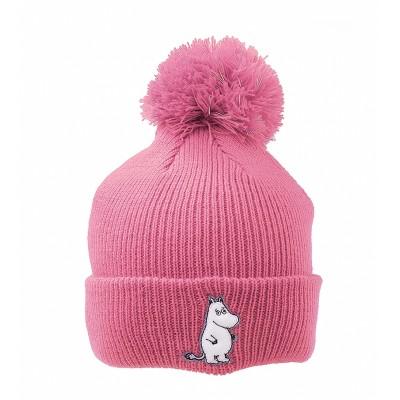 Шапка вязаная Moomin Муми-тролль Pink