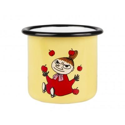 Moomin Кружка эмалированная Retro Малышка Мю желтая, 250 мл