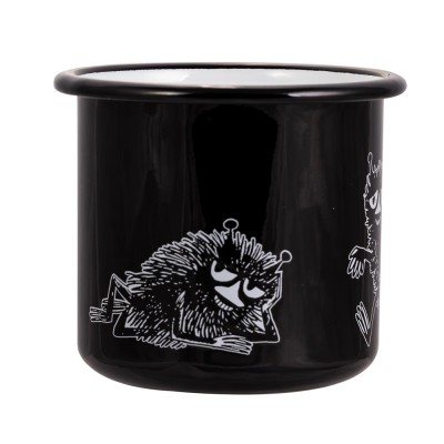 Moomin Кружка эмалированная Retro Стинки, 370 мл