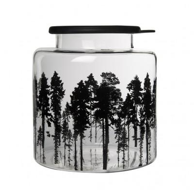 Nordic Банка стеклянная с крышкой The Forest, 3л