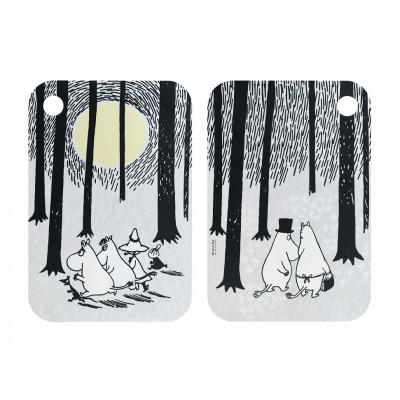 Разделочная доска Moomin В лесу 21x31 см