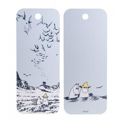 Разделочная доска Moomin Маяк и Остров 18x44 см