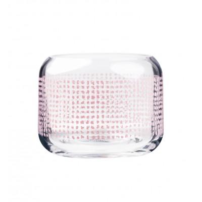 Подсвечник Twine pink 8 см