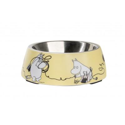 Миска для животных Moomin yellow 17,5 см