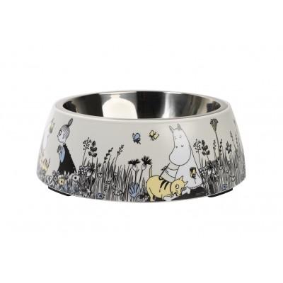 Миска для животных Moomin grey 22 см