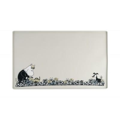 Силиконовый коврик для животных Moomin grey 60х40 см