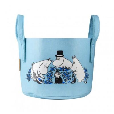 Корзина для хранения Moomin Черника 17 л