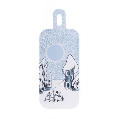 Разделочная доска Moomin Снежная долина, 13x33 см