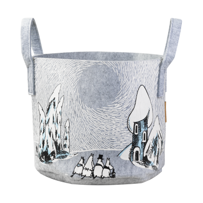 Корзина Moomin Снежная долина, 30 л