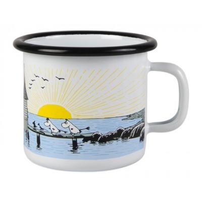 Moomin Кружка эмалированная Спелый ветер, 250 мл