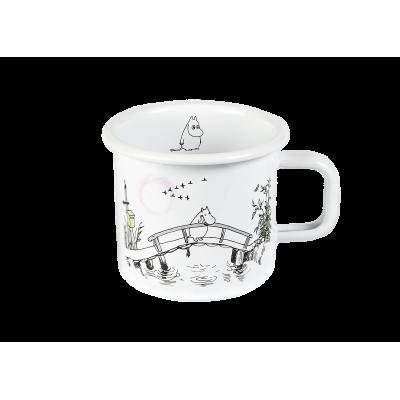 Moomin Кружка эмалированная Скучаю по тебе, 370 мл