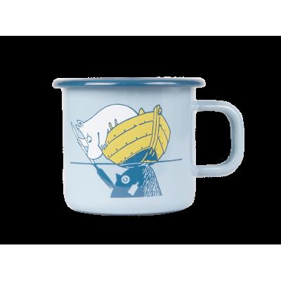 Moomin Кружка эмалированная Наше море, 370 мл