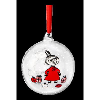 Елочная игрушка Moomin Winter Magic Малышка Мю 9 см