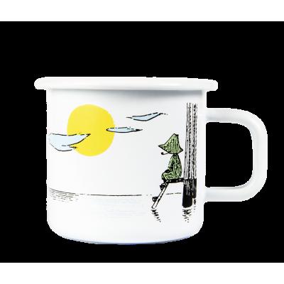 Moomin Кружка эмалированная Мечтающий, 370 мл