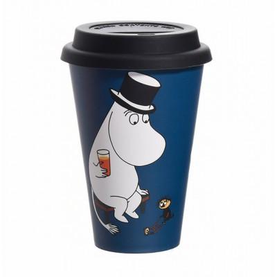 Кружка на вынос Moomin Муми-папа отдыхает 450 мл