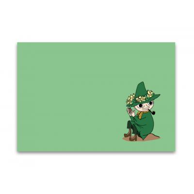 Настольный коврик Moomin Снусмумрик Green 40x30 см