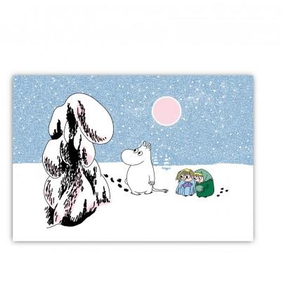 Настольный коврик Moomin Глубокий снег 40х30