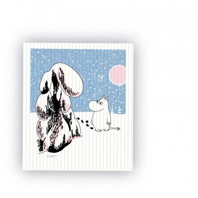 Кухонная салфетка Moomin Глубокий снег